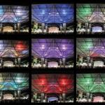 Collage Beleuchtung bei Nacht © Schulitz Architekten