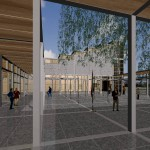 19_Expo2000_Pavillon des Vatikans - Innenhof