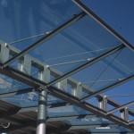 Hallenverbindungen, Hannover - Dachkonstruktion