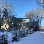 Haus an der Alster, Winter