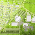 EgeTrans - Arena, Bietigheim-Bissingen - Lageplan