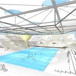 Leichtathletik- und Judohalle, Leipzig - Innenperspektive