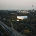 Eissporthalle für Redbull München - Vogelperspektive