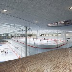 Eissporthalle für Redbull München - Eingang Breitensport