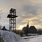 Bauarbeiten Erfurt Panoramaaufzug