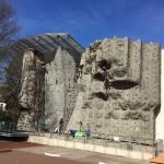 Kletterwand an der Güldenstr. 39C in Braunschweig