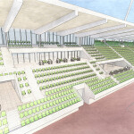 HSS Stadion Dresden Tiers with wheelchair access